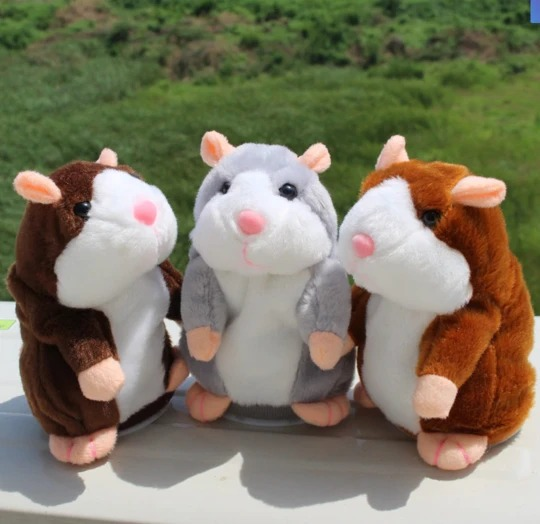 Talking Hamster Toy PennySays